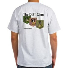 Dirt Clan - MAD Ash Grey T-Shirt