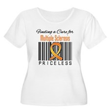 Finding a Cure MS Plus Size T-Shirt