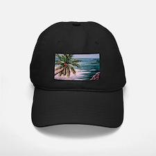 """Tropical Palm"" Baseball Hat"