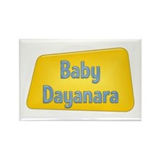 Baby Dayanara Rectangle Magnet