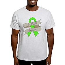 Non-Hodgkins Lymphoma Standing Strong T-Shirt