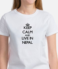 Keep Calm and Live In Nepal T-Shirt