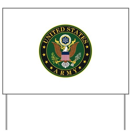 U.S. Army Official Eagle Yard Sign