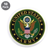 """U.S. Army Official Eagle 3.5"""" Button (10 pack)"""