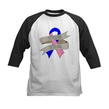 Male Breast Cancer Standing Strong Baseball Jersey