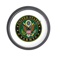 U.S. Army Official Eagle Wall Clock