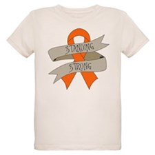 Leukemia Standing Strong T-Shirt
