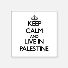 Keep Calm and Live In Palestine Sticker