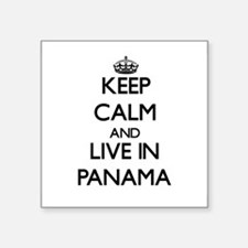 Keep Calm and Live In Panama Sticker