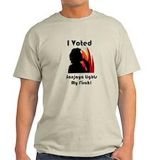 I Voted for Sanjaya