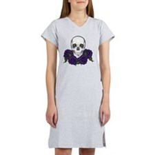 Skull N Roses Women's Nightshirt