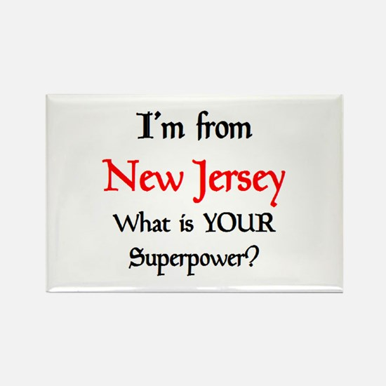 from NJ Rectangle Magnet