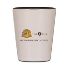 50th Anniversary Medallion Shot Glass