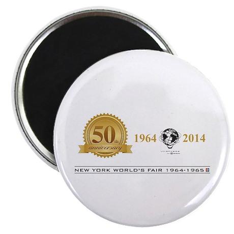 50th Anniversary Medallion Magnets