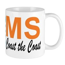 Coast the Coast Small Mug