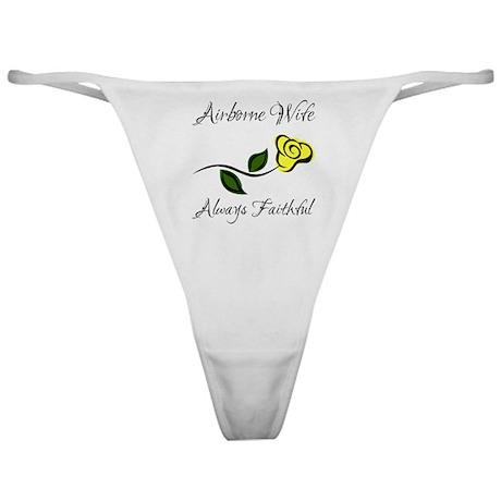 Airborne Wife - Always Faithf Classic Thong