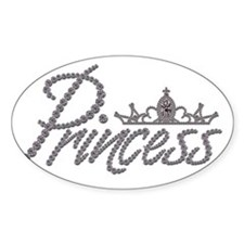 Diamond Princess and Tiara Decal