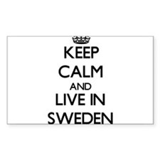 Keep Calm and Live In Sweden Decal