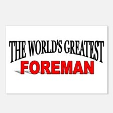 """""""The World's Greatest Foreman"""" Postcards (Package"""
