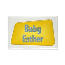 Baby Esther Rectangle Magnet