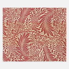 William Morris Larkspur design. King Duvet