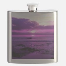 Purple Sunset Flask