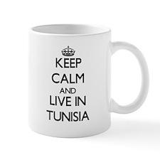 Keep Calm and Live In Tunisia Mugs