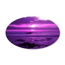 Purple Sunset Wall Decal
