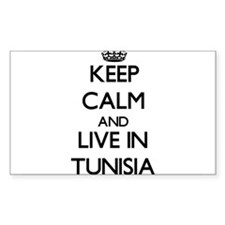 Keep Calm and Live In Tunisia Decal