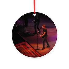 Keith Urban Round Ornament