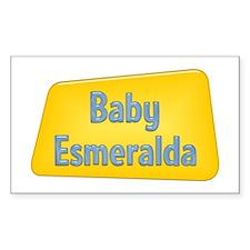 Baby Esmeralda Rectangle Decal