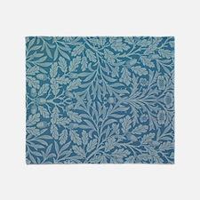 William Morris Acorn  Throw Blanket