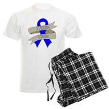 Huntingtons Disease Standing Strong Pajamas