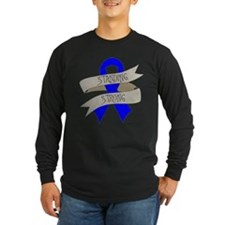 Huntingtons Disease Standing Strong Long Sleeve T-