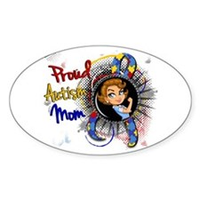 Autism Rosie Cartoon 1.1 Decal