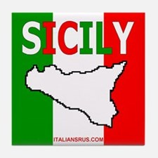 Sicily Tile Coaster