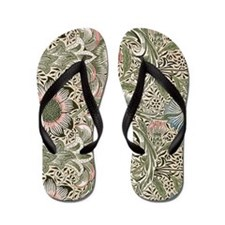 William Morris Corncockle Flip Flops
