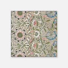 "William Morris Corncockle Square Sticker 3"" x 3"""