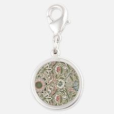 William Morris Corncockle Silver Round Charm