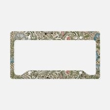 William Morris Corncockle License Plate Holder