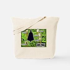 Jack the Ripper Victim Map Green Tote Bag