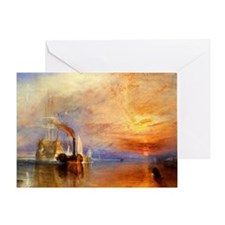 The Fighting Temeraire by Turner Greeting Card