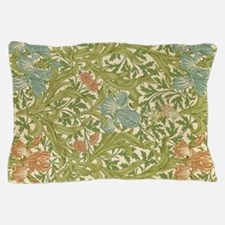 Willliam Morris Iris Pattern Pillow Case