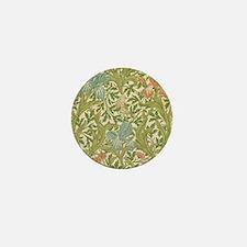 William Morris Iris Design Mini Button