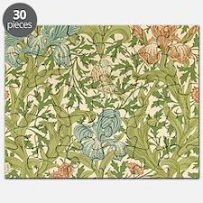 William Morris Iris Design Puzzle