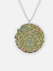 William Morris Iris Design Necklace