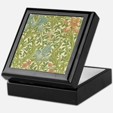William Morris Iris Design Keepsake Box
