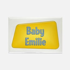Baby Emilie Rectangle Magnet