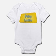 Baby Emilie Infant Bodysuit