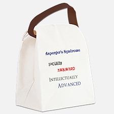 Cute Aspergers Canvas Lunch Bag